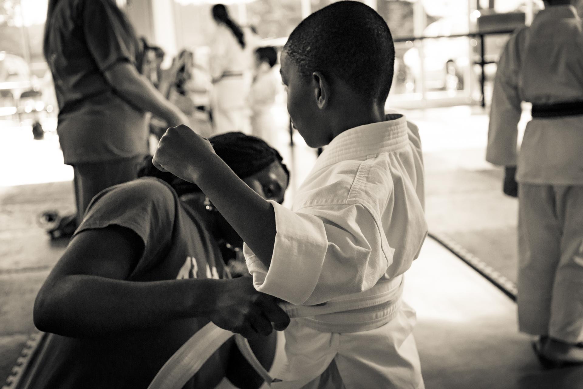 Getting started at Impact Martial Arts Pelham AL