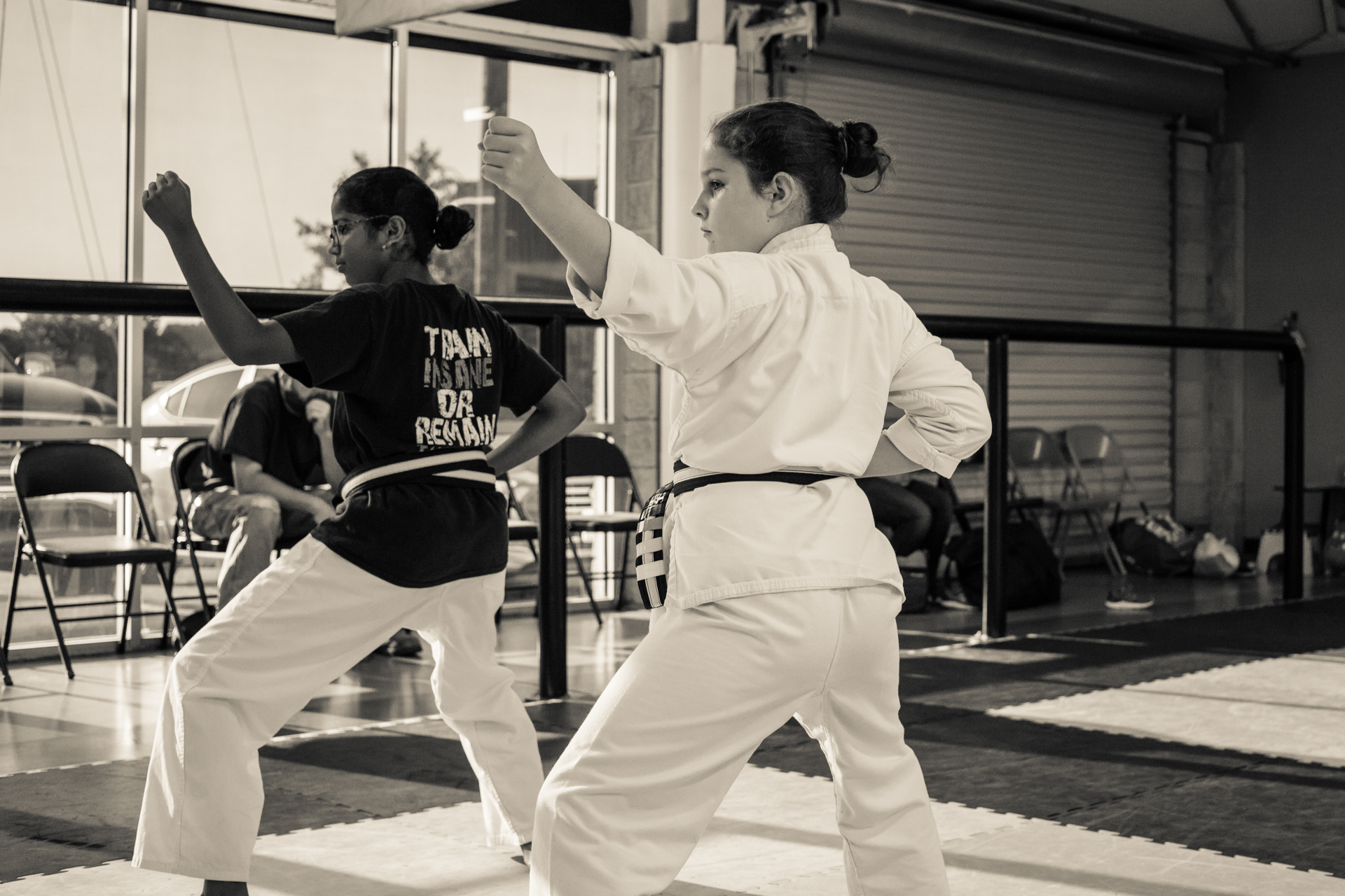 Girls self defense training Impact Martial Arts Alabama